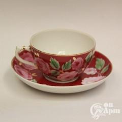 "Чайные пары ""Розы"""
